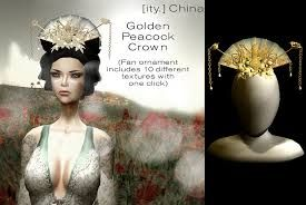 gold chinese headdress - Google Search