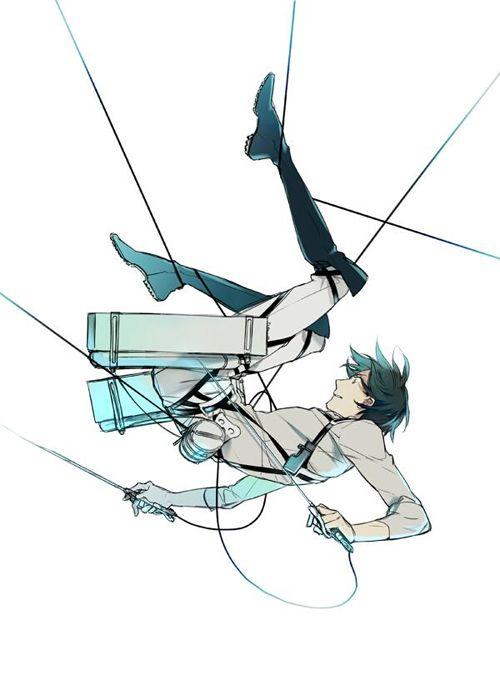 Art by Takarai Rihito - awesome Attack on Titan (Shingeki no Kyojin) art