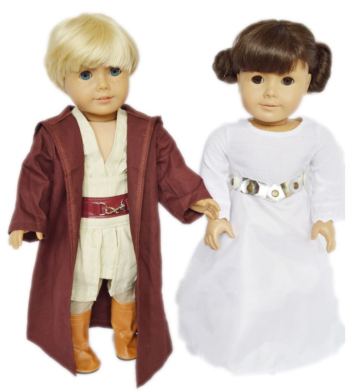Brittany's - My Brittany's Star Wars Inspired Set for American Girl Dolls- Doll Clothes for American Girl Dolls, $44.99 (http://www.mybrittanys.com/18-inch-american-girl-doll-clothes/costumes-for-american-girl-dolls/halloween-costumes/my-brittanys-star-wars-inspired-set-for-american-girl-dolls-doll-clothes-for-american-girl-dolls/)