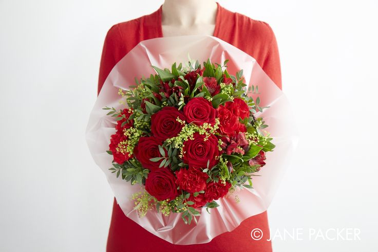 """Strawberry"" bouquet from the Jane Packer Online Collection - Summer Fruits 2016"