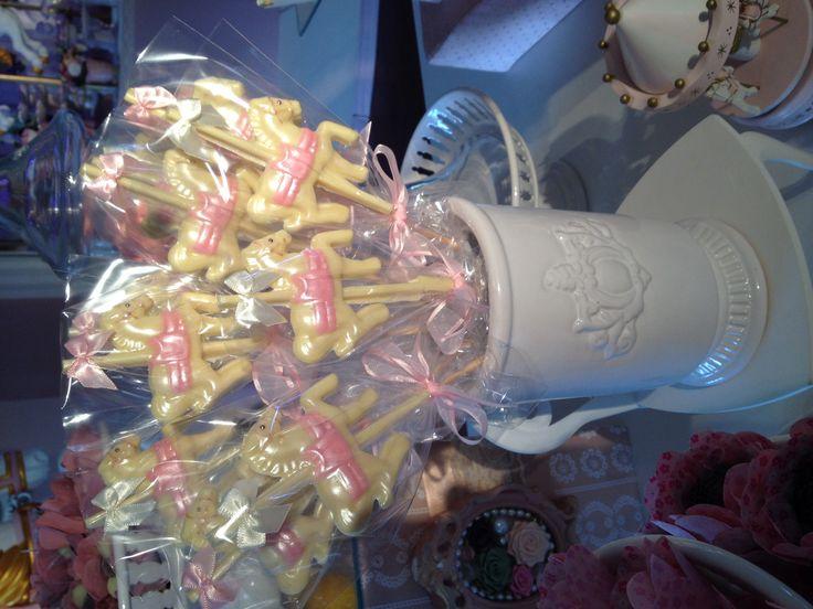 Lollipop carousel Horse / www.happyfest.com.br