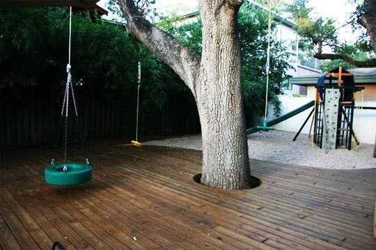 A Stylish and Family-Friendly Backyard!    Austin