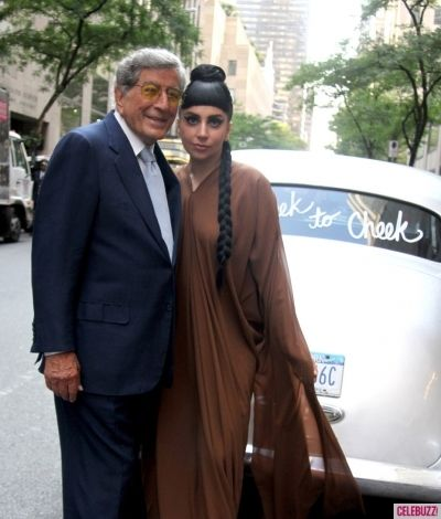 Lady Gaga And Tony Bennett Announce Their Jazz Album 'Cheek to Cheek' #prom #hairstyles