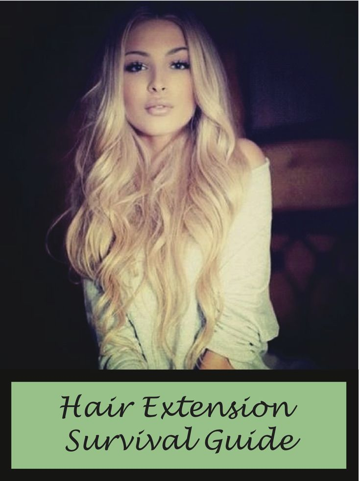 Hair Extension Survival Guide more info http://24inchhairextensions.net