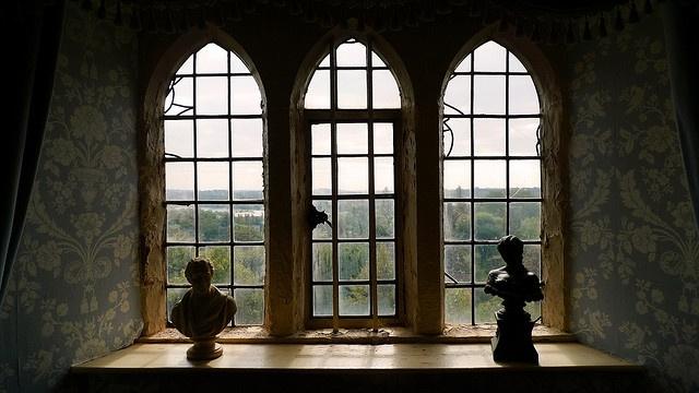 New Light Through Old Windows - Tamworth Castle Sept 2009 by marpete, via Flickr