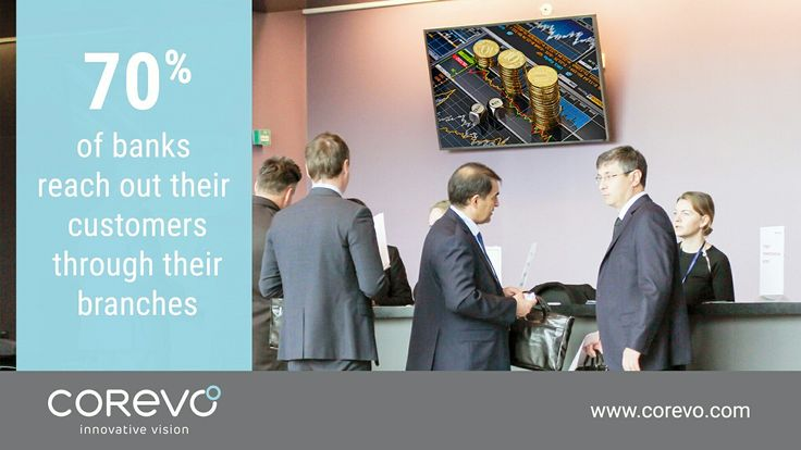 Reduce perceived waiting time, transmit more messages and improve customer relationship using solutions that Unisign developed specifically for the Finance sector: http://ow.ly/g3pD3077aya #finance #digital #signage
