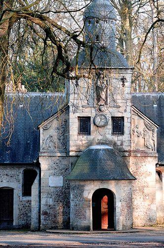 Normandy, France. Chapelle construite en 1600-1615 pour remplacer une ancienne chapelle fondée avant l'an 1023, par Richard II.