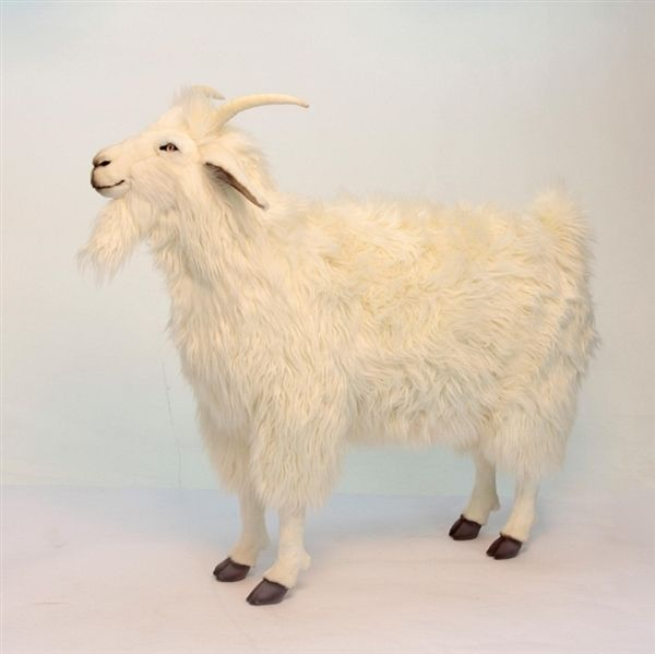 Handcrafted 39 Inch Life-size Ride-On Goat Stuffed Animal by Hansa