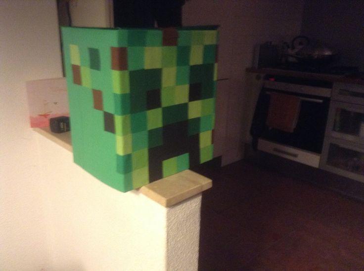 Minecraft, gemaakt voor een jongen uit mijn groep