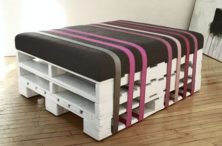 ber ideen zu paletten hocker auf pinterest palletten hocker und palettenbar. Black Bedroom Furniture Sets. Home Design Ideas