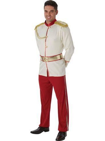 Disfraz de príncipe de La Cenicienta para hombre