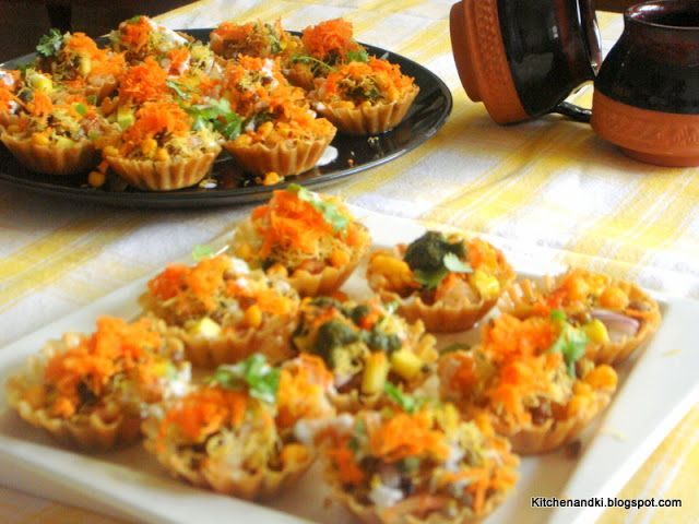 Kitchen Trysts with Ki: Chatpati Chaat/ Spicy Indian Starter