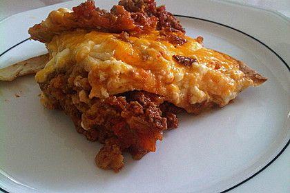 Mexikanische Lasagne, ein schönes Rezept aus der Kategorie Auflauf. Bewertungen: 1. Durchschnitt: Ø 3,0.
