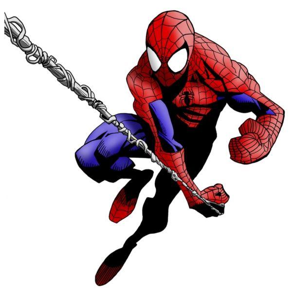 Disegno Di Spiderman L Uomo Ragno A Colori Per Bambini Disegni