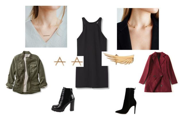 day-to-nite transition by aleksandra-hamrol on Polyvore featuring moda, MANGO, L.L.Bean, Jeffrey Campbell, ALDO, day, auratenyc and plus size clothing