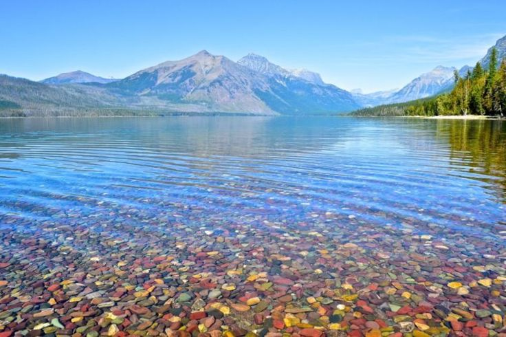 This Montana Lake Filled With Colorful Pebbles Is One For Your Bucket List