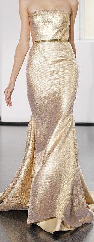 Gold strapless ✧✦