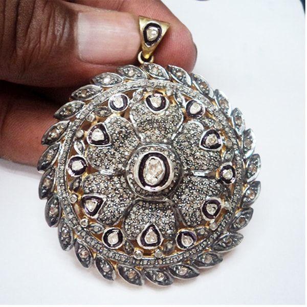 Handmade sterling silver Pendant Jewelry
