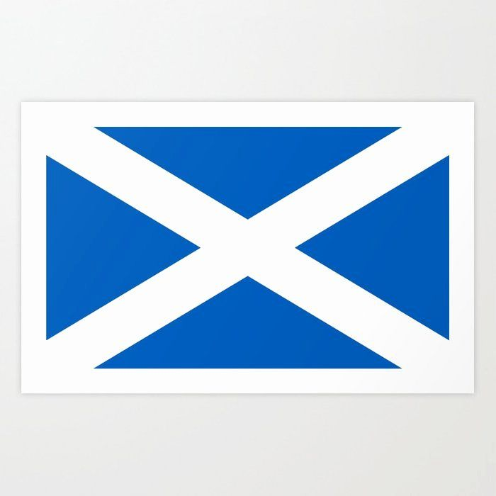 Scotland Flag Coloring Page In 2020 Flag Coloring Pages