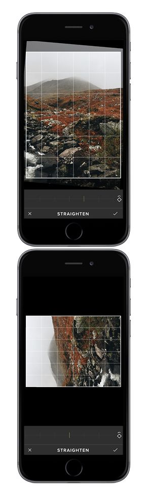 How to straighten photos | VSCO Cam tutorial