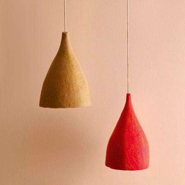Muskhane wool lampshades kidsinteriordesigns.com.au