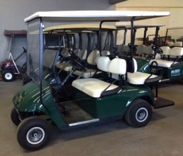 #GolfCartHandel - #EZGO TXT als Viersitzer - Gebrauchtfahrzeug  Golf Cart / Golfcar bei uns nur 2899,- € #elektrofahrzeug #golfplatz #golfen #freizeit #amazing #fun #camping #golfcart #golfcar #golfauto #golfwagen