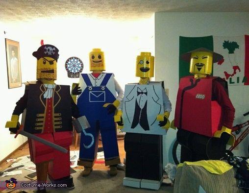 The Lego Men - 2012 Halloween Costume Contest