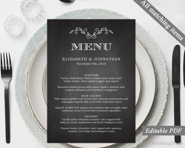 The 25+ best Menu templates ideas on Pinterest Food menu - dessert menu template