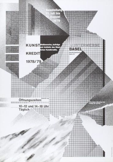 08 weingart poster by wolfgang weingart #typography #graphicdesign