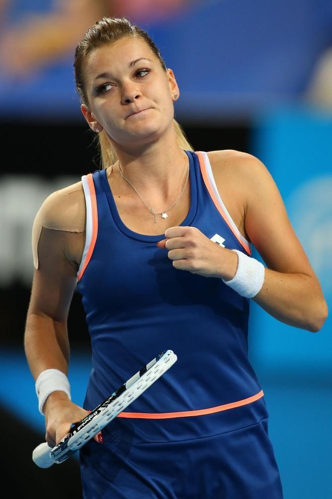 Agnieszka Radwanska @ Hyundai Hopman Cup 2014: Final on January 4, 2013 #WTA #Radwanska #Perth