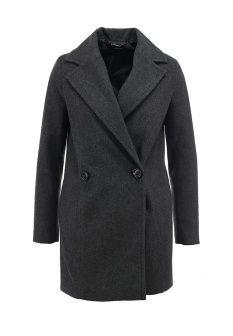 Пальто Motivi, цвет: серый. Артикул: MO042EWGTT40. Женская одежда / Верхняя одежда