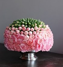 Carnations. They get a bad rap, but look how beautiful!