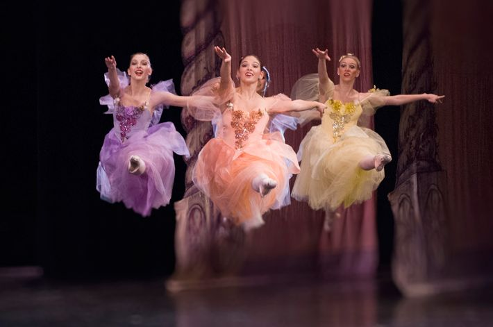 California Ballet presents The Nutcracker at the San Diego Civic Theatre. Live accompaniment by the San Diego Symphony and the Classics Philharmonic.