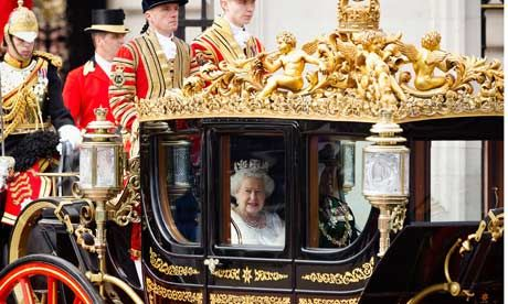 Employment law reforms confirmed today in Queen's Speech; ahead of nationwide public sector strikes on 10 May: Queen Elizabeth, Buckingham Palaces, Royals Carriage, The Queen, Elizabeth Ii, Royals Coach, Royals Families, States Open, Queen Speech