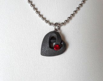 Dragon Eye Necklace Polymer Clay Eye Pendant by Macrani on Etsy