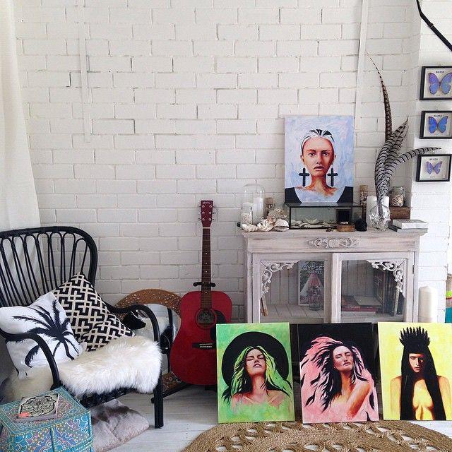 SARAH / art studio  oil paintings