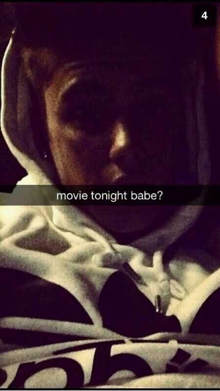 Movie tonight babe? Of course baby i love you Justinnnn... you are my husband... Love you forever