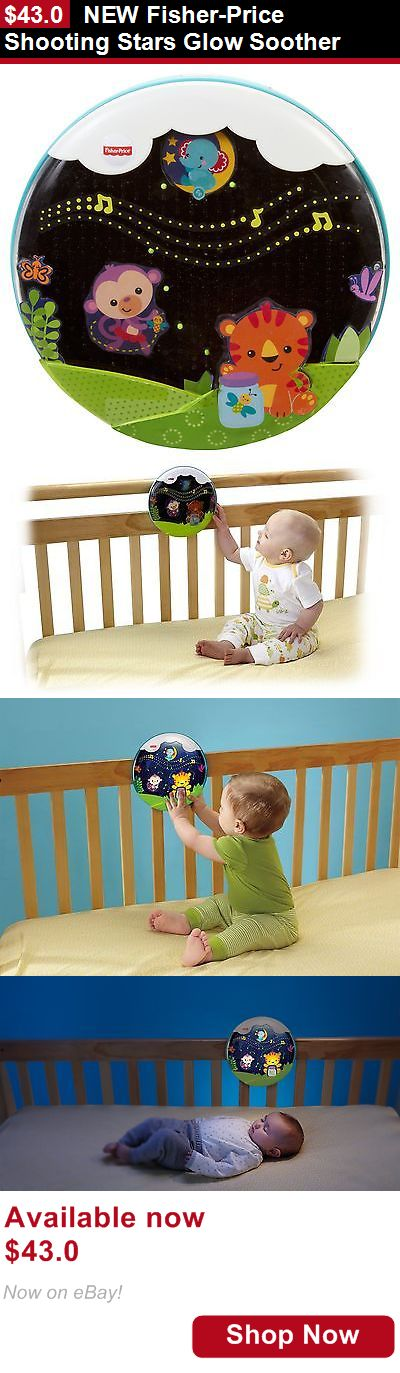 Crib Toys: New Fisher-Price Shooting Stars Glow Soother BUY IT NOW ONLY: $43.0