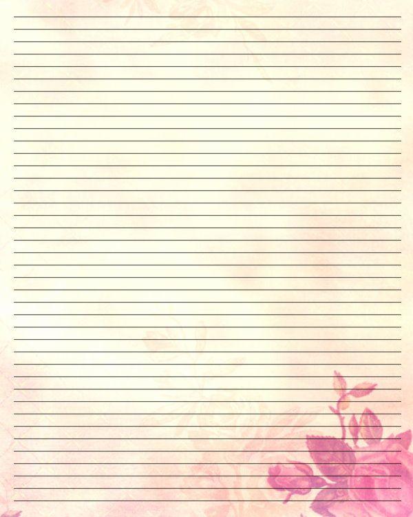 Lined Stationary Paper Bilderesultat For Free Stationery To Print - lined stationary template