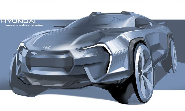 Hyundai Suv Rendering on Behance