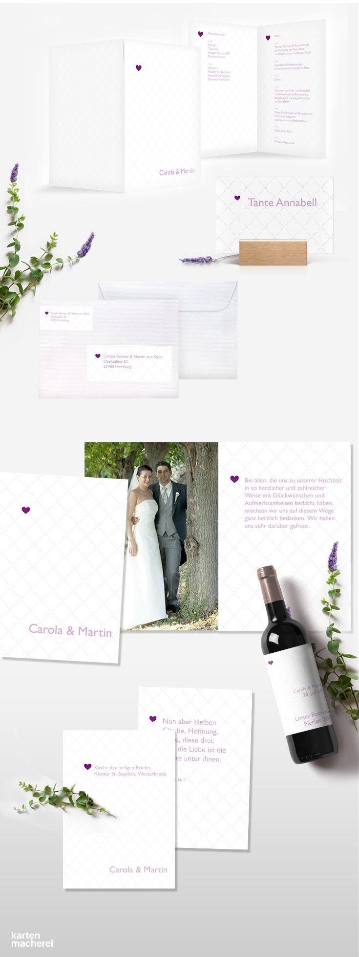 85 best Hochzeit | Violett images on Pinterest | Purple wedding ...
