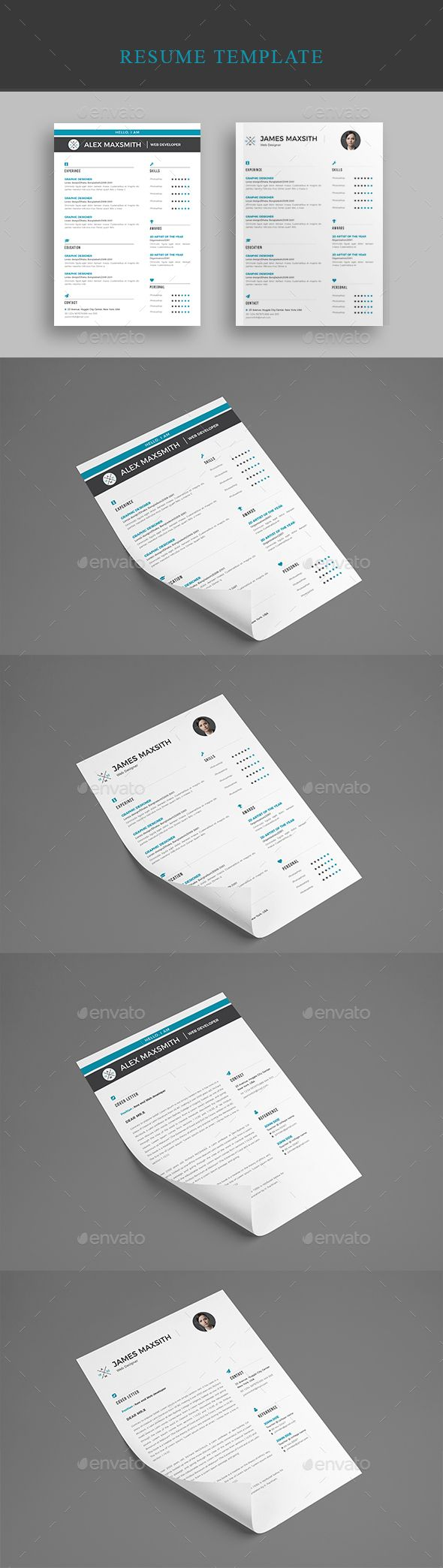 1390 best images about resume design on pinterest