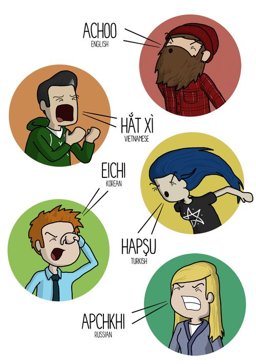 How To Sneeze In Ten Different Languages