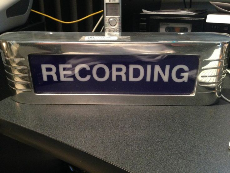 Blue Cbt Systems Classic Style Recording Studio Warning