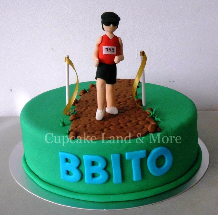 Birthday Cake Pictures For Runners : 1000+ images about Running Cake on Pinterest Birthday ...