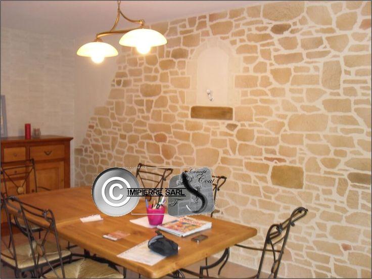 42 best images about enduit pierre interieur mur en. Black Bedroom Furniture Sets. Home Design Ideas