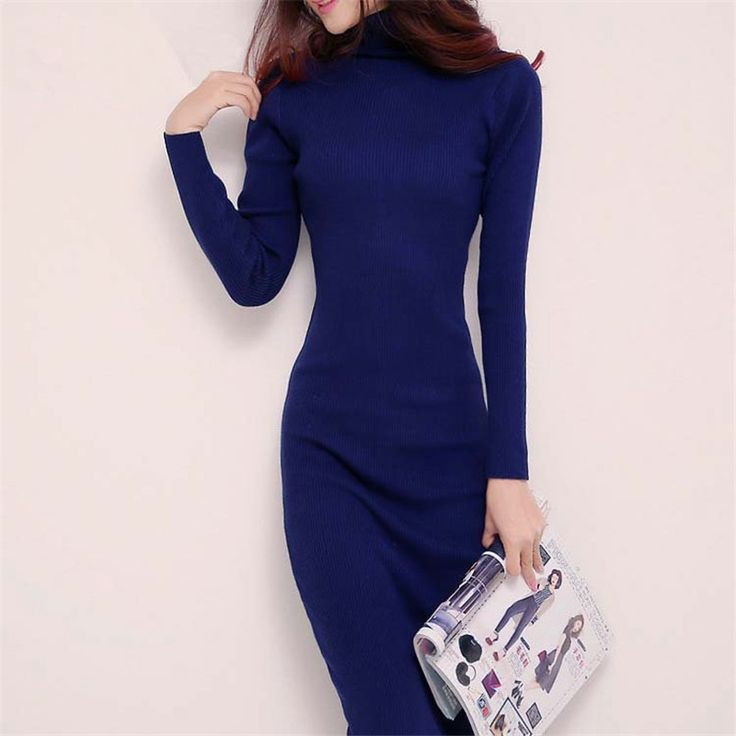 2015 new arrive women winter sweater dresses slim  Price: $39.98 Buy From AliExpress:http://5.gp/pbpG