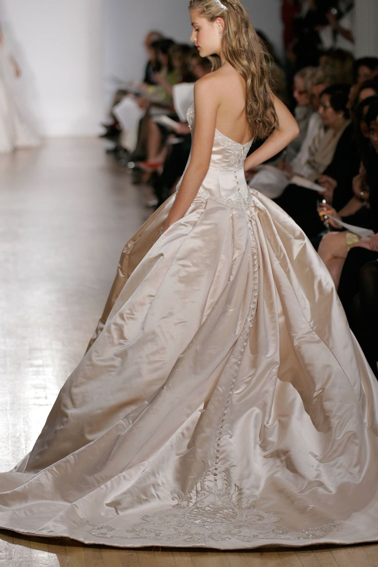 Austin Scarlett Bel Canto Wedding Dress for Kenneth Pool by Amsale