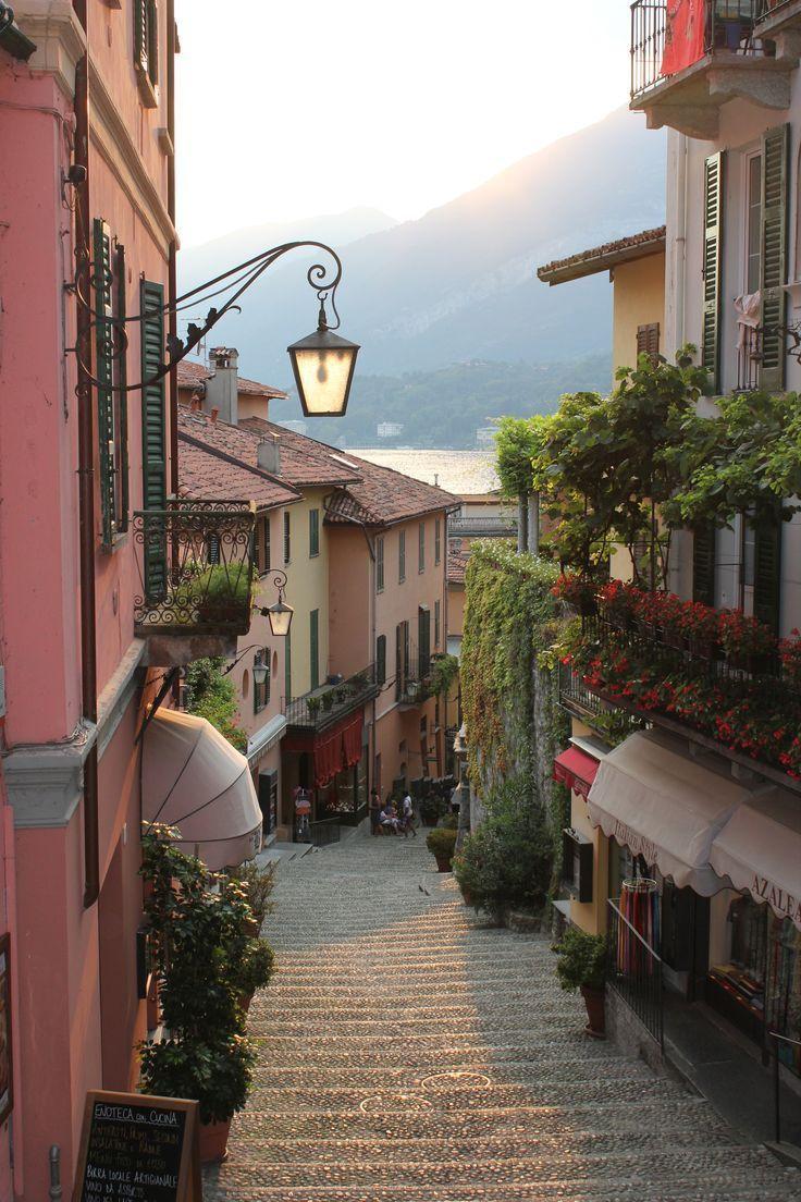 Bellagio Comer See, Italien Die Schöne Reise