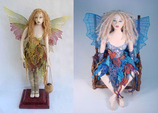 Cloth Doll Patterns by Allison Marano